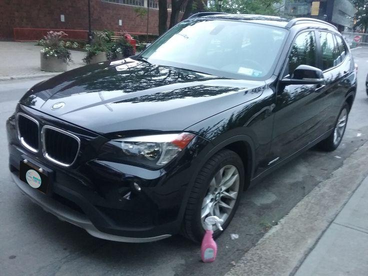 Cliente Magic Clean Car, EL #BMW brilla espectacular #Lavarsinagua - Deja Tu Auto Limpio, brillante y protegido sin utilizar una Gota de Agua