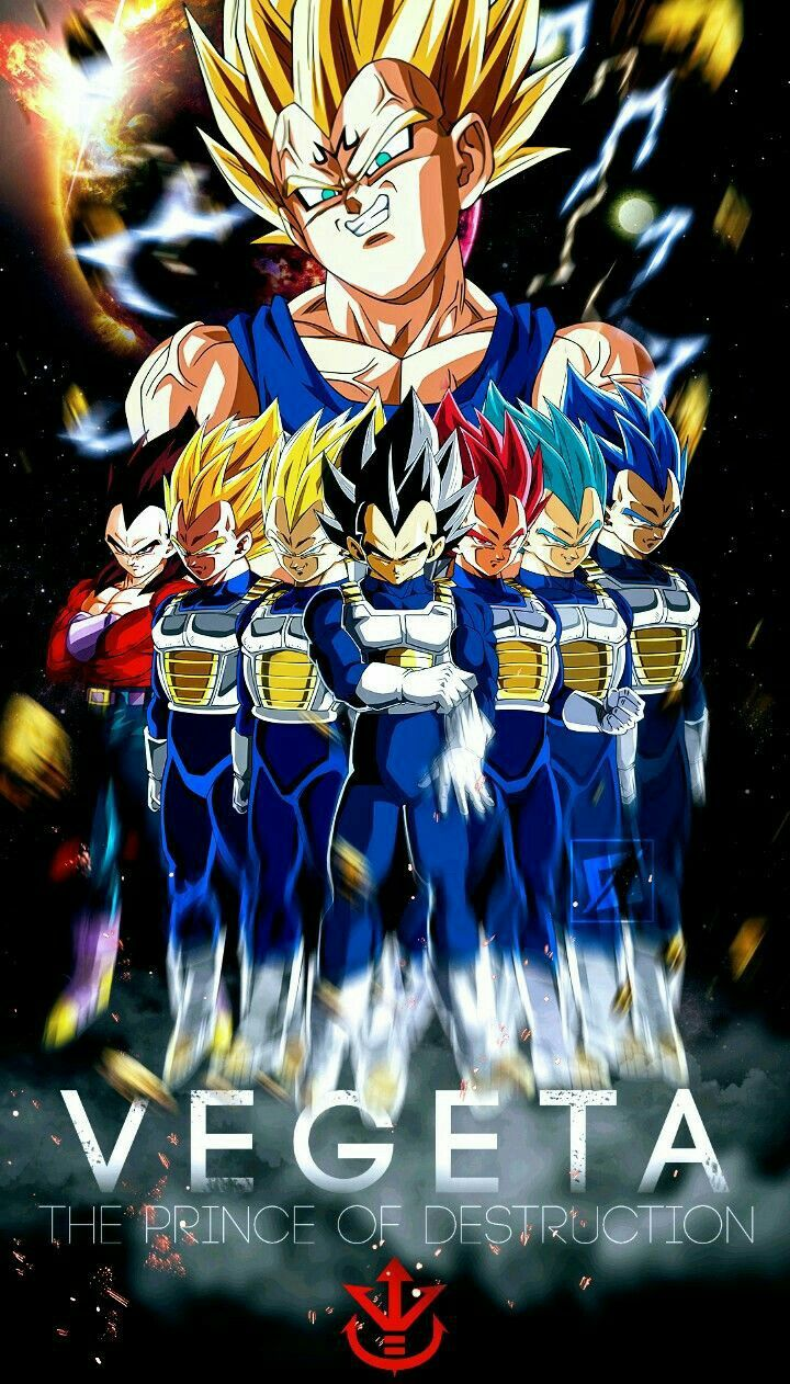 The Vegeta Form Tree With Images Anime Dragon Ball Super