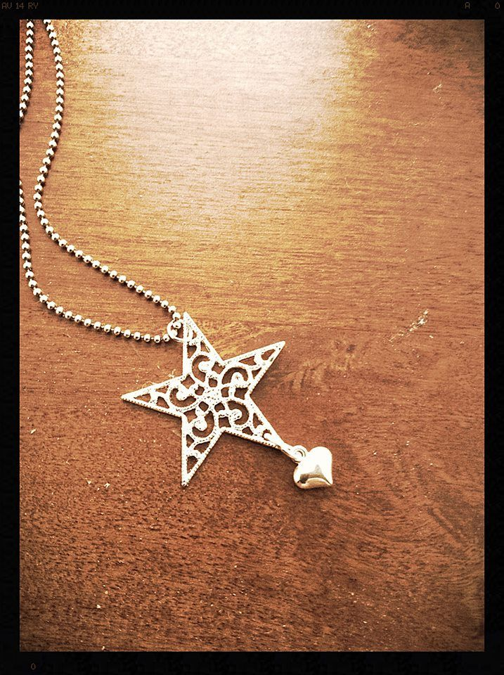 Star and Heart Necklace