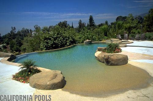 beach entry pool my zero dream pools elegant steps mat royal