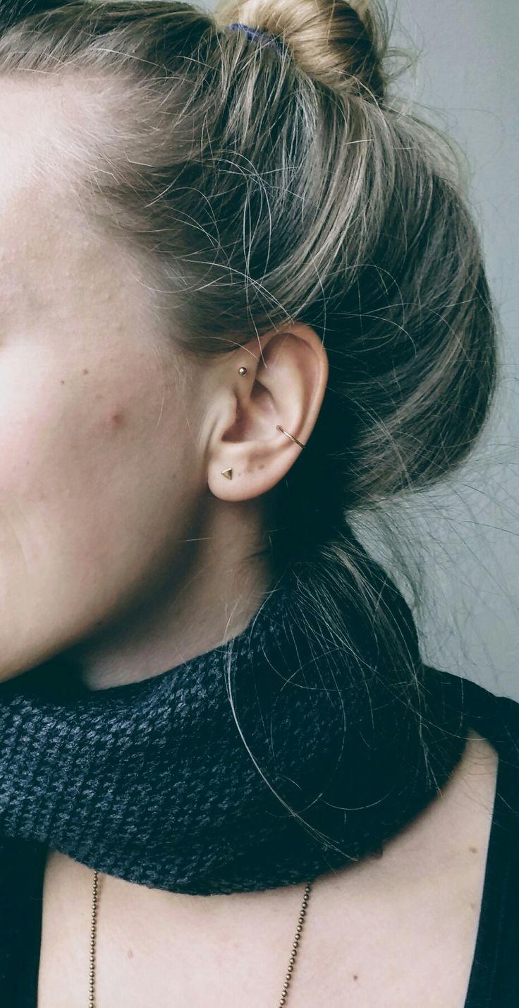 Names for cartilage piercing   best ear piercings images on Pinterest  Piercing ideas Earring