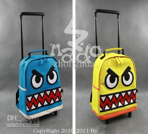 Bambini Zaini trolley valigia bagaglio NADO valigia Zaini bambino borse borse scuola