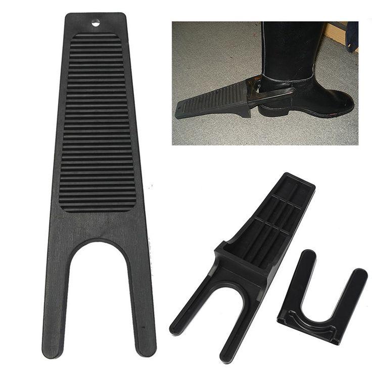 Nowe Plastikowe Heavy Duty Jazda Konna Boot Jack Ściągacz Remover Pasuje Do Wellies Buty Jeździeckie Rymarze Konny Dostawy Czarny