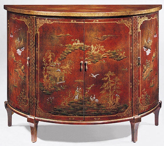 Chinoiserie - Demilune Cabinet