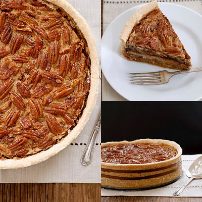 GF Deep-Dish Chocolate Bourbon Pecan Pie