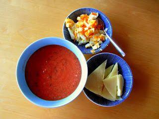 Soulfood Giesing: Sommerrezept: Vegane Gazpacho Suppe