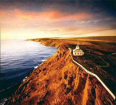 All of North America is behind you when you stand on Cape Spear, Newfoundland, facing East