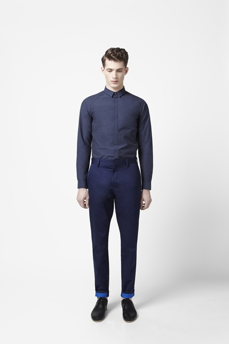 Double-faced trousers