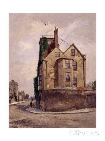 Canonbury Tower, Islington, London, 1887 Giclee Print