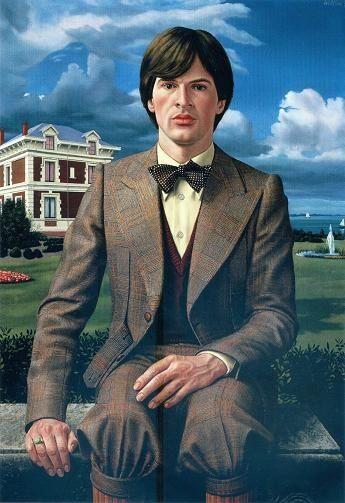 Portret van Rik (Portrait of Rik) by Carel Willink, 1976