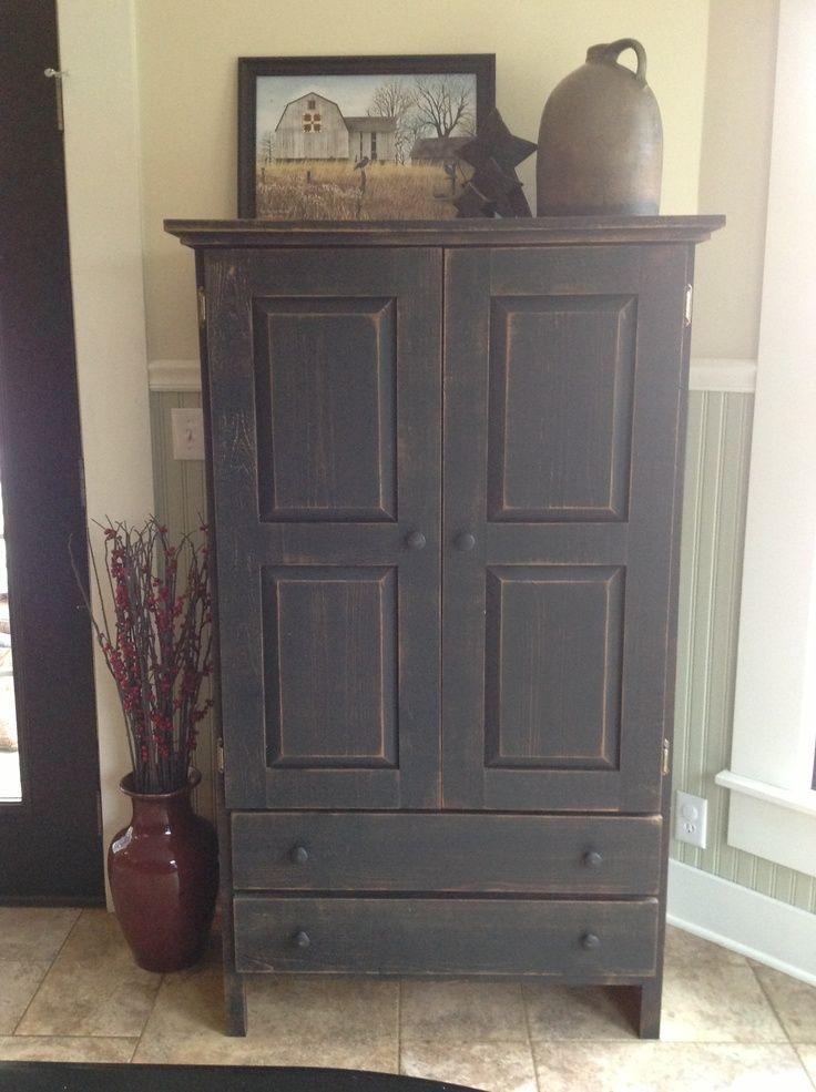 668 best primitive furniture images on pinterest. Black Bedroom Furniture Sets. Home Design Ideas