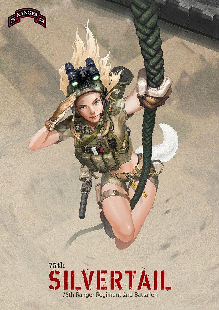 ArtStation - US ARMY 75th RANGER, Yoonsik Kim