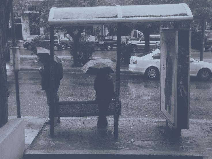 "station ""everybody follow the umbrella"" thejattendsproject.tumblr.com"