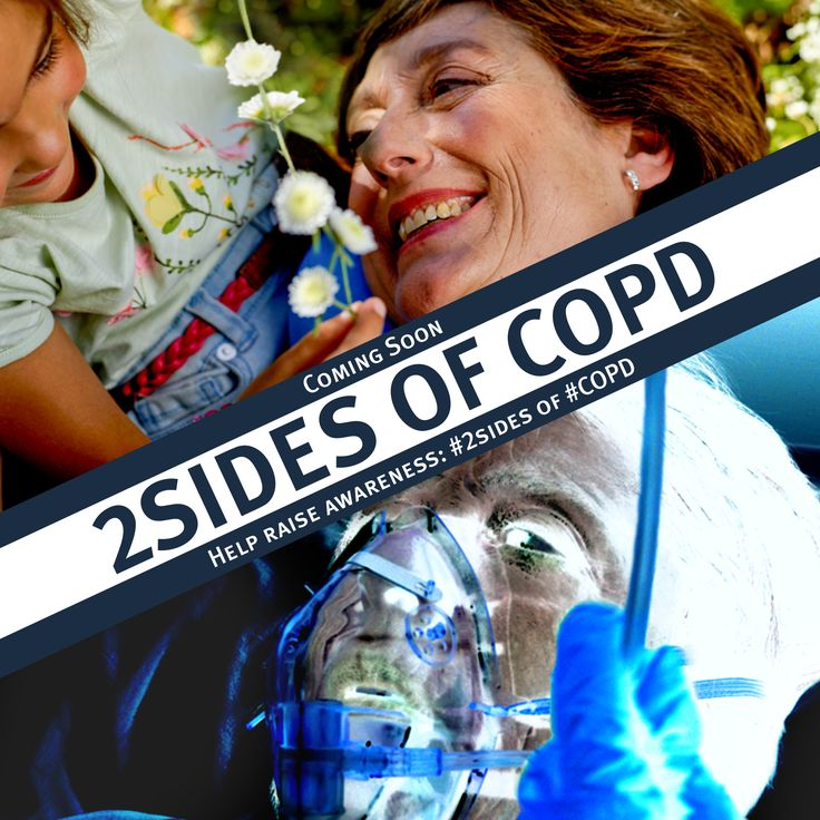 Did you know #2sides of #COPD is officially launching at this year's ERS congress? In one week you will be able to compare the light and dark sides of COPD, share amongst your communities and highlight the risk of uncontrolled exacerbations…there are two sides to every story after all! #ERS2015 #Health #Video #Teaser
