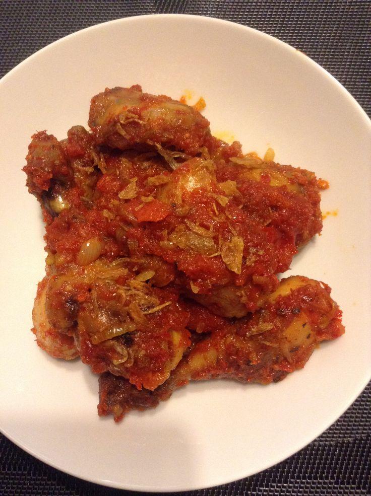 Balado ayam #homemade