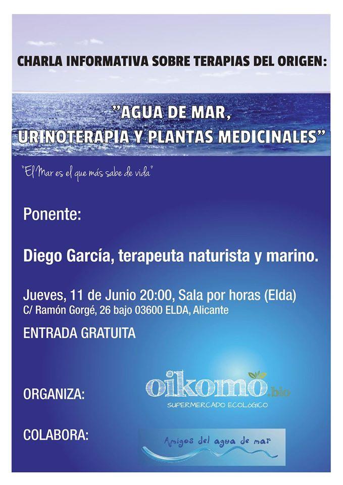 Charla terapias del origen - Diego Garcia - Elda