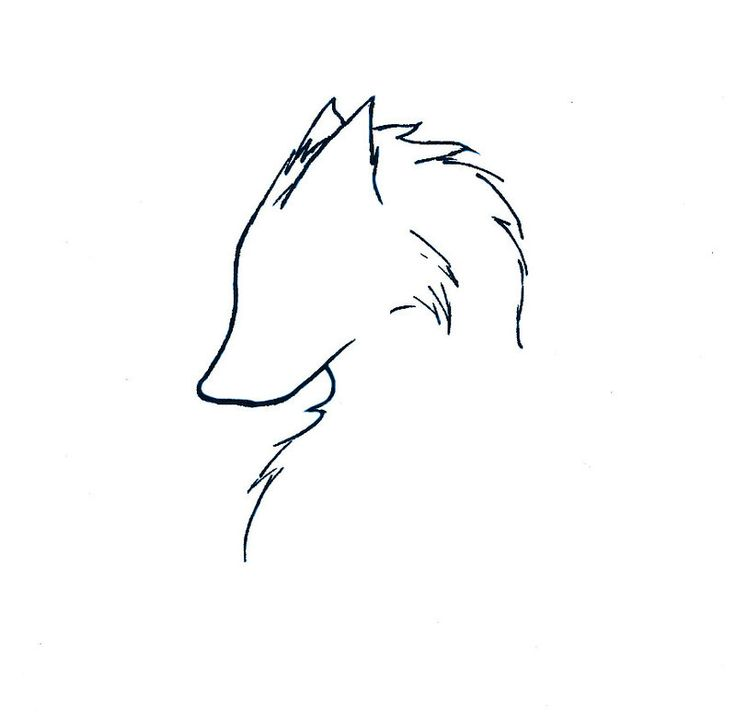 Tattoo - Wolf by ~flamingzigzag on deviantART
