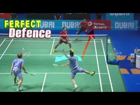 The Art Of Badminton Defending Kevin Sanjaya Sukamuljo Marcus Fernaldi Gideon Read The Rest Of This Entry Htt Badminton Match Badminton Videos Badminton
