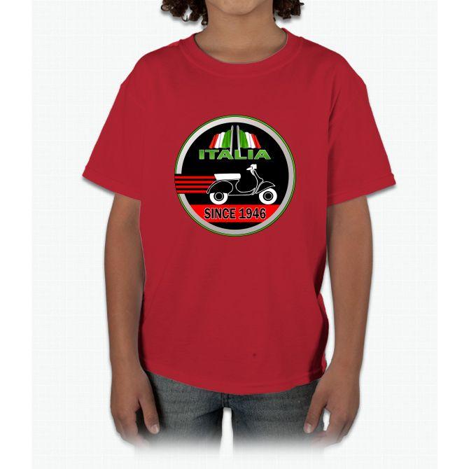 Vespa Club Logo Young T-Shirt