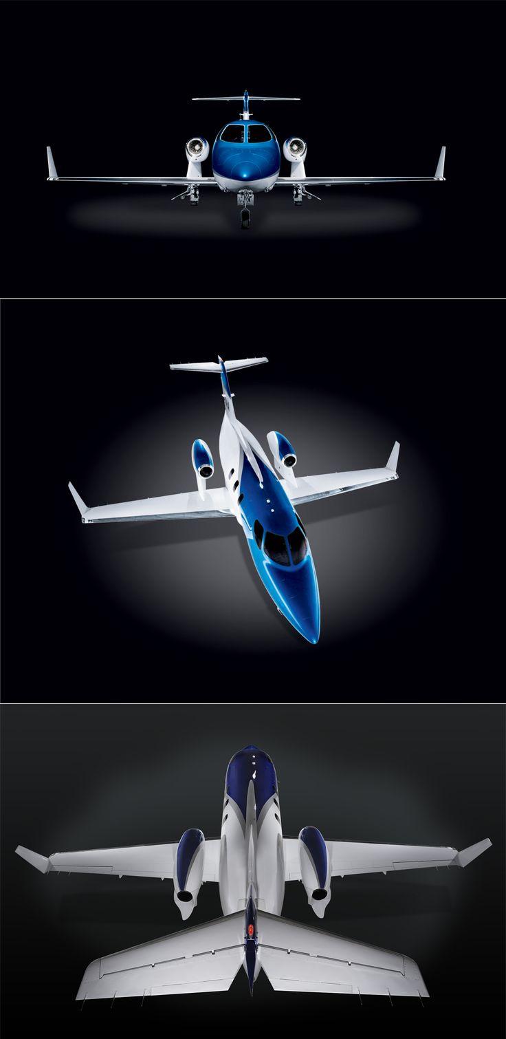 Honda jet plane