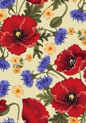 彼岸花。IPhone壁纸。平铺,碎花。