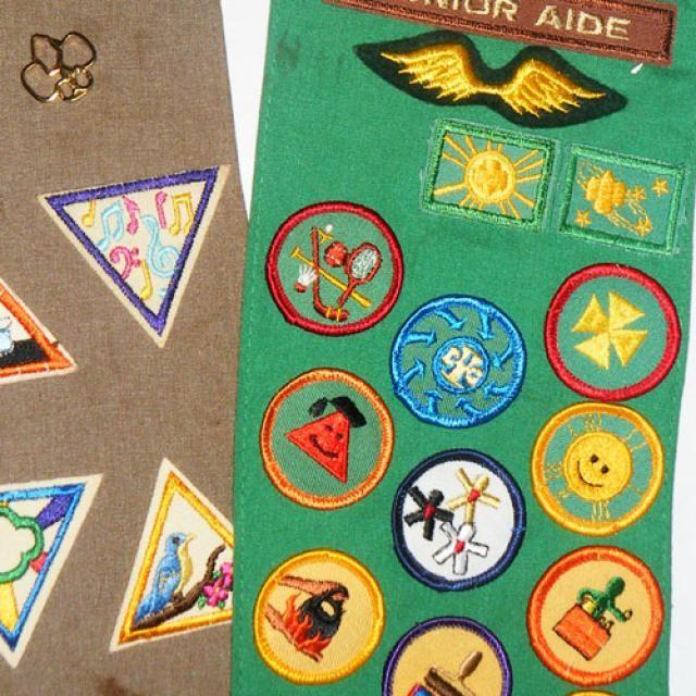 badges platzieren