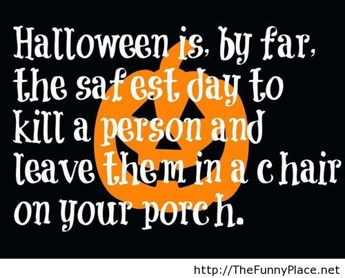 Halloween Quote With Wallpaper Funny