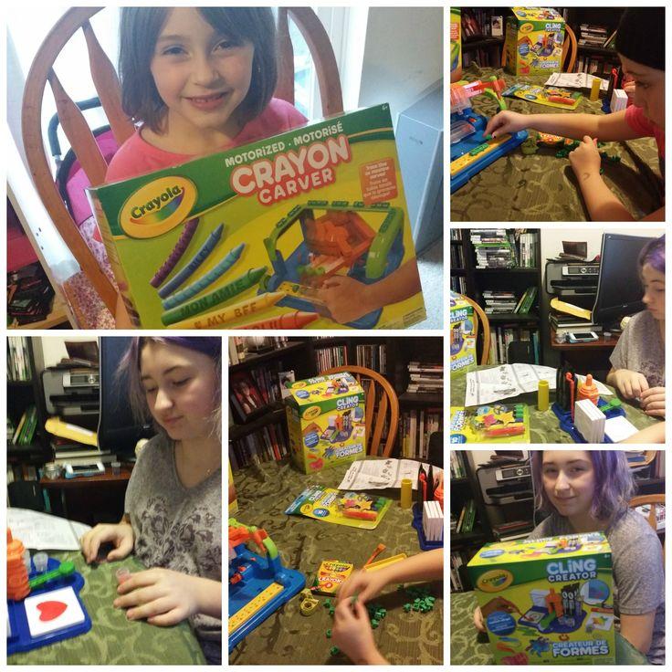 Crayola For Christmas!!!!