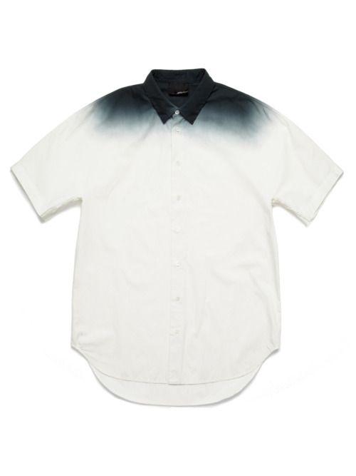 3.1 PHILLIP LIM, Short Sleeved Colour Grade Shirt