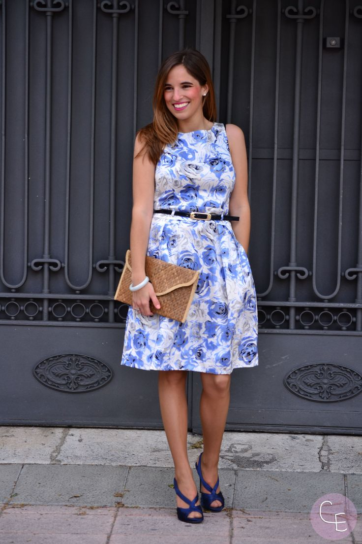 Roberto Verino Perfect dress floral print Style total look outfit inspiration blogger lareinadellowcost