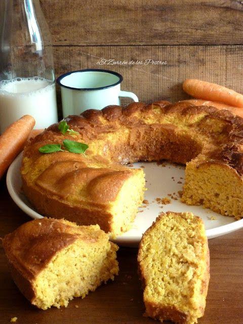 El Zurrón de los Postres: Cake de Zanahorias para Diabético y Celiacos