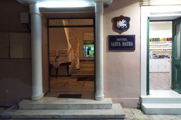 Hotel ''Santa Maura''.