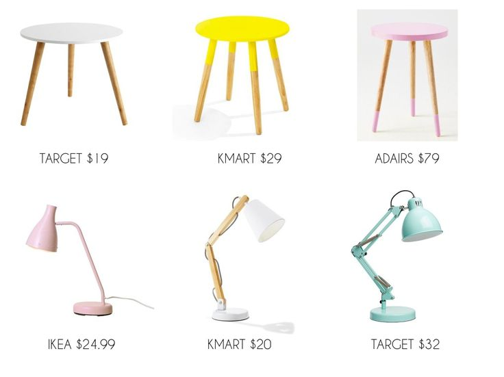 AFFORDABLE TABLES & LAMPS