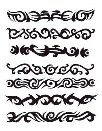 Celtic Armband Tattoo-I so want the next to bottom one.