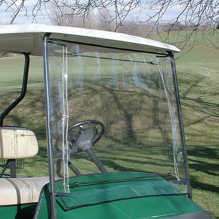 Orlimar Power Golf Cart Windshield