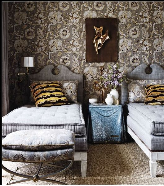 head boards: Gorgeous Bedrooms, Headboards, Boys Rooms, Wallpapers, Twin Beds, Beds Frames, Bedside Tables, Mattress, Guest Rooms