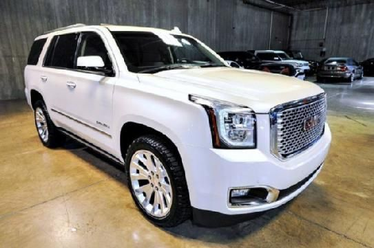 "2015 GMC Yukon Denali, White Diamond Tricoat Exterior/Cocoa/Dark Atmosphere Interior, Premium Pkg., Open Road Pkg., Rear Entertainment System, 22"" Wheels, Enhanced Security Pkg., Every Option, Available Only 501 Miles, Asking Only $78900.00. Contact me at tafsr192@aol.com"