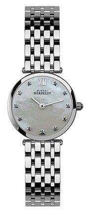Michel Herbelin Ladies Mother Of Pearl Dial Classic Bracelet Watch 1045/B59