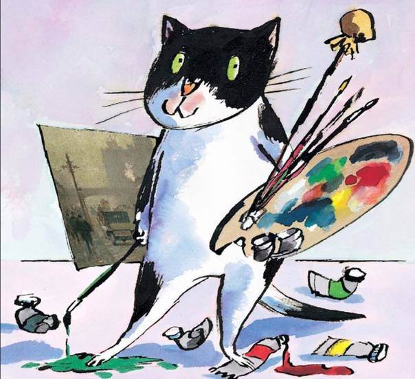 Tony RossCat Art, Barefoot Book, Art Gallery, Tony Ross, Cat Tony, Artists Cat, Children Illustration, Art Cat, Children Book