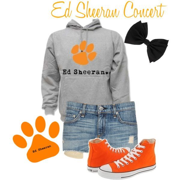 ed sheran concert outfit