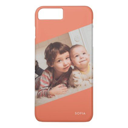 Upload Your Photo Monogram iPhone 8 Plus/7 Plus Case - create your own gifts personalize cyo custom