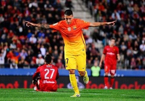 Tello, FC Barcelona | Mallorca 2-4 FC Barcelona. > Celebrando su anotación<  11.11.12.