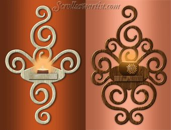 lighted scroll saw projects pdf