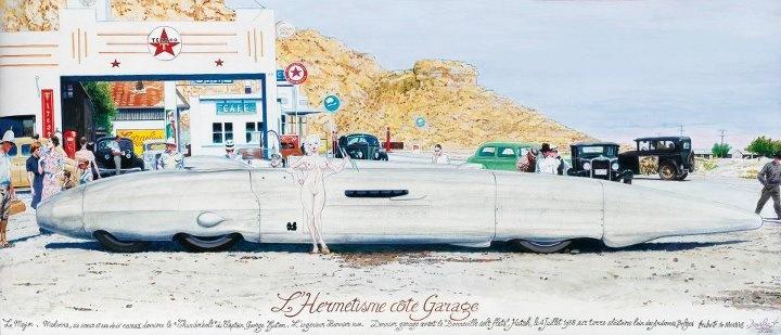 Denis Sire  L'Hermétisme côté garage, 2012