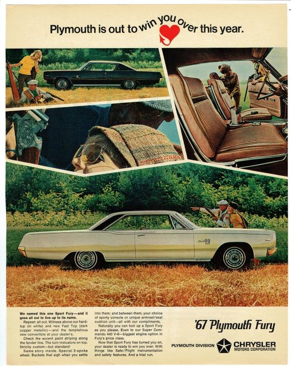 this page measures approximately 10 x 13 please see scan pics for details and condition plymouth is out to win you over with in 2020 plymouth fury plymouth chrysler pinterest