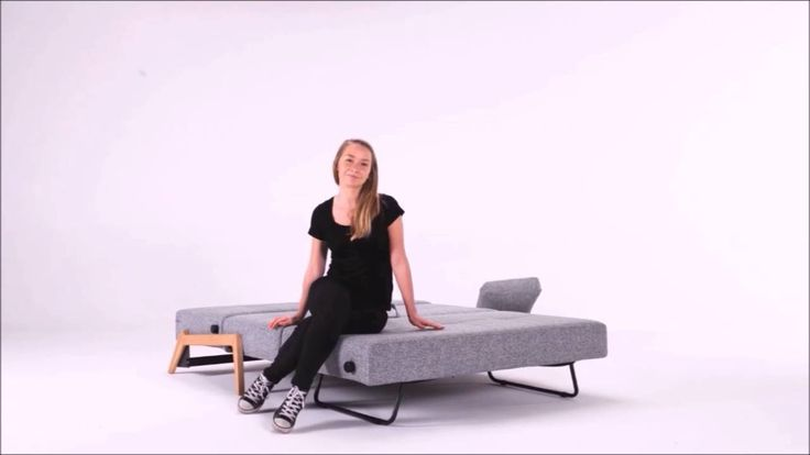 Cubed sofa with oak legs by Innovation Living. A new design for the Istyle collection.