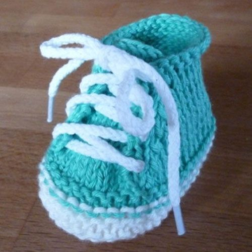 37 Best Knitted Baby Booties Images On Pinterest Baby Knitting