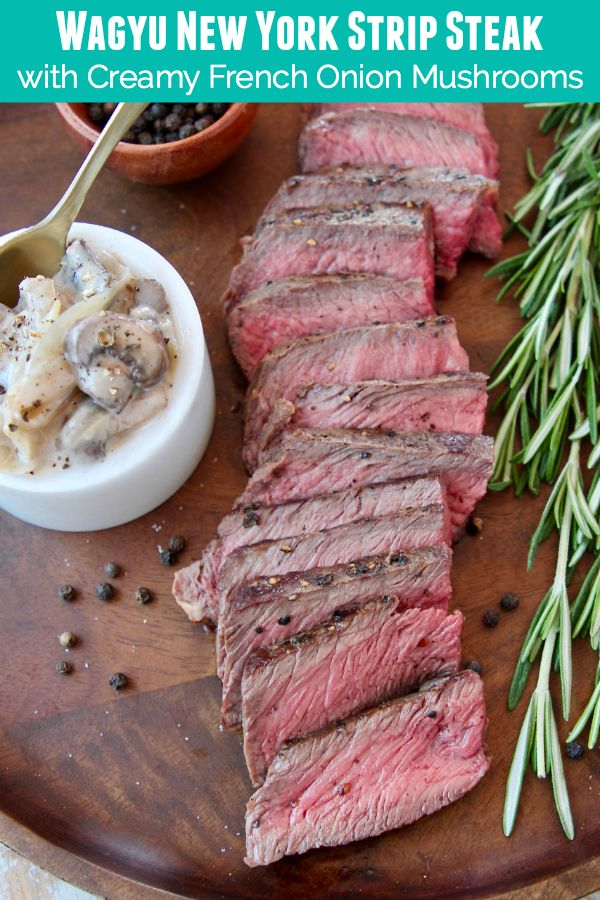 Learn How To Cook The Perfect Wagyu Steak In A Cast Iron Skillet Serve The Steak With This Recipe For Crea Wagyu Steak Wagyu Beef Recipe New York Steak Recipe