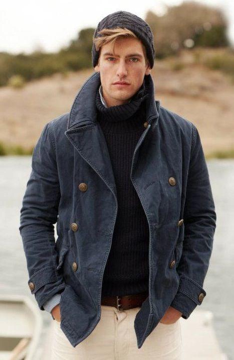 画像 : 冬コーデをかっこよく!ニット帽を取り入れたおしゃれなメンズコーデ - NAVER まとめ