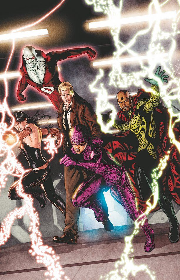 Justice League Dark by Ryan Sook